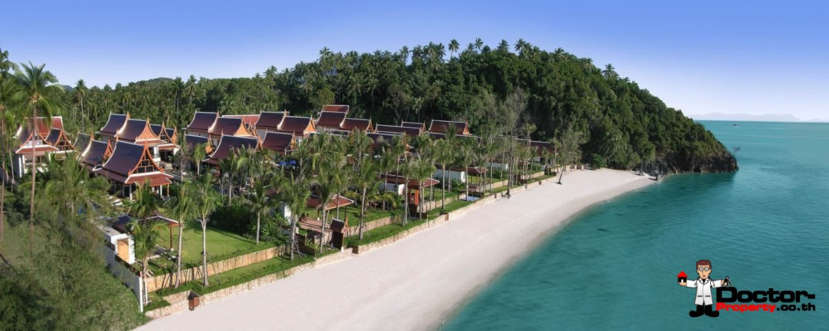 5 Bedroom Beachfront Villa - Lipa Noi - Koh Samui - for sale