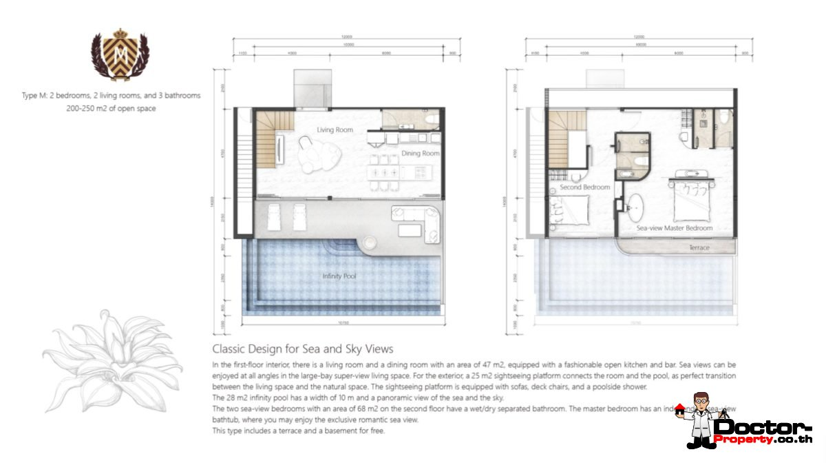 New 2 Bedroom Villa with Sea View – Bang Makham – Koh Samui