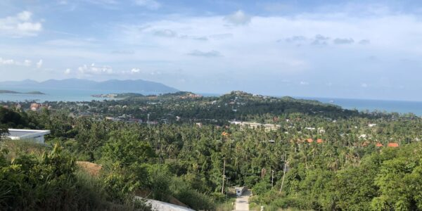 Stunning Sea View Land - Plai Laem - Koh Samui - for sale