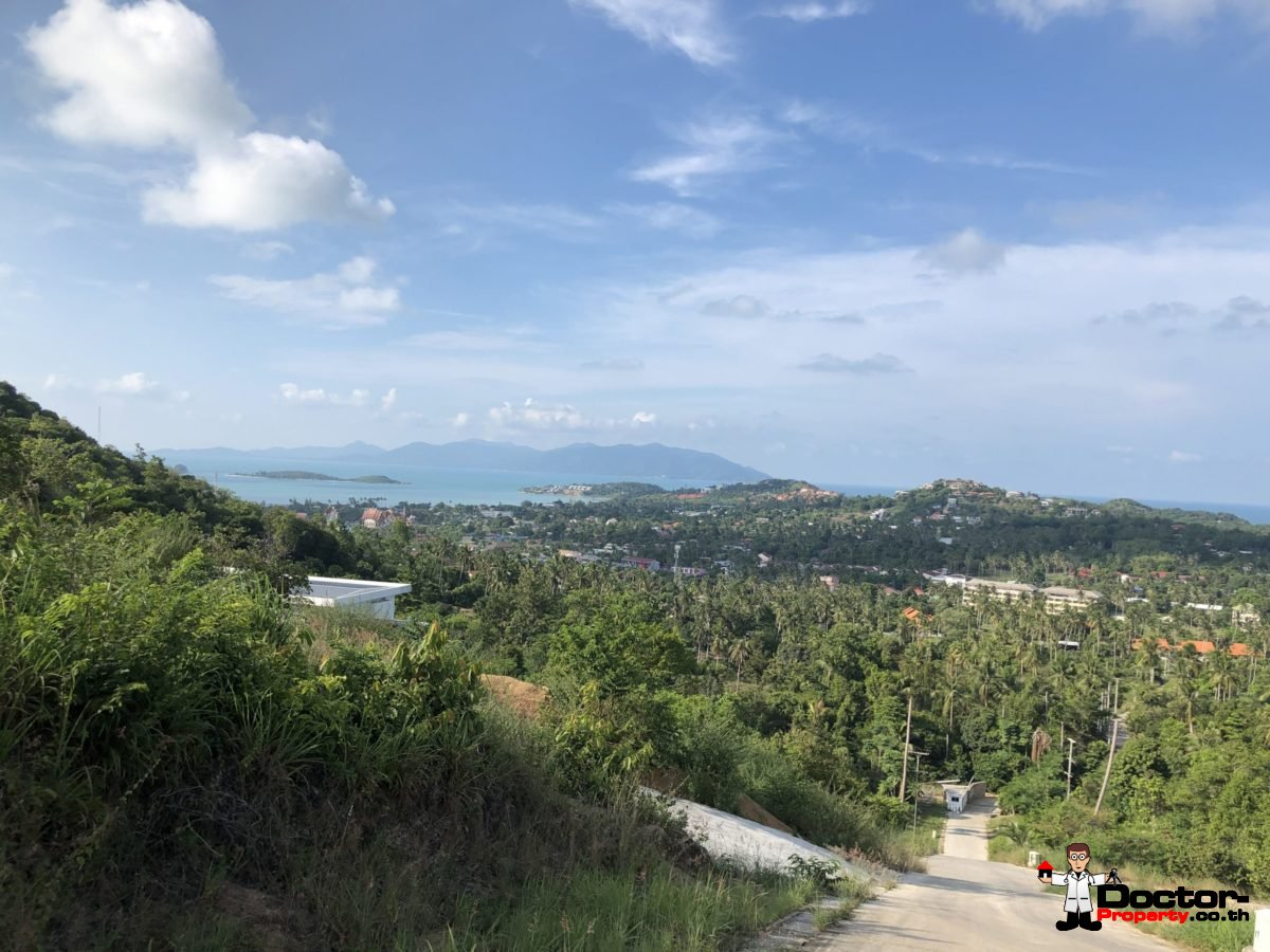 Stunning Sea View Land - Plai Laem - Koh Samui - for sale