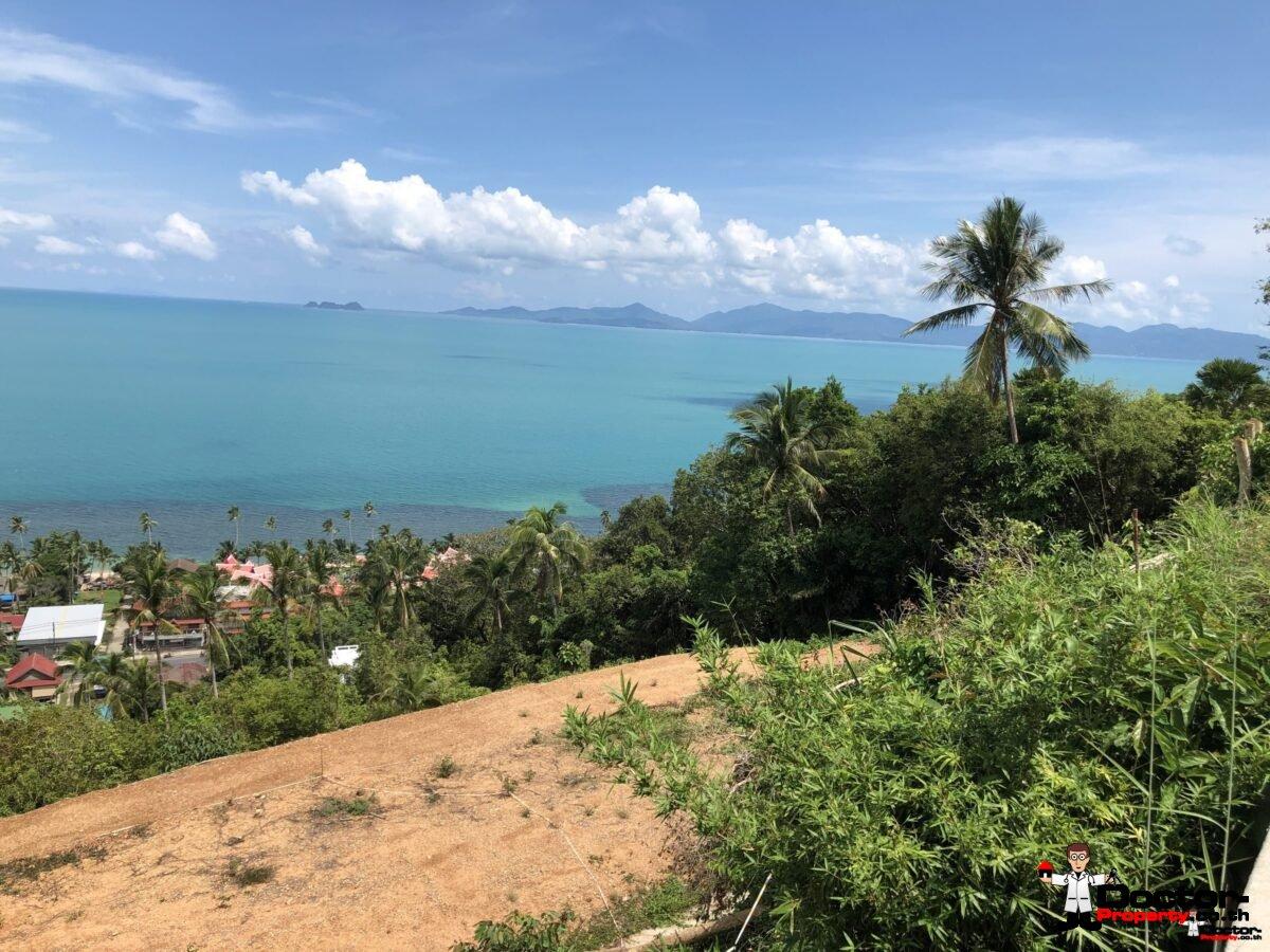 1 Rai Perfect Sea View Land - Bangor - Koh Samui - for sale