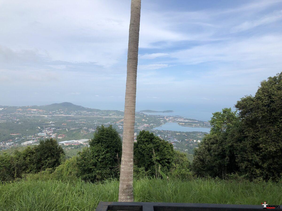 Amazing 4,5 Rai Sea View Land - Bophut - Koh Samui for sale