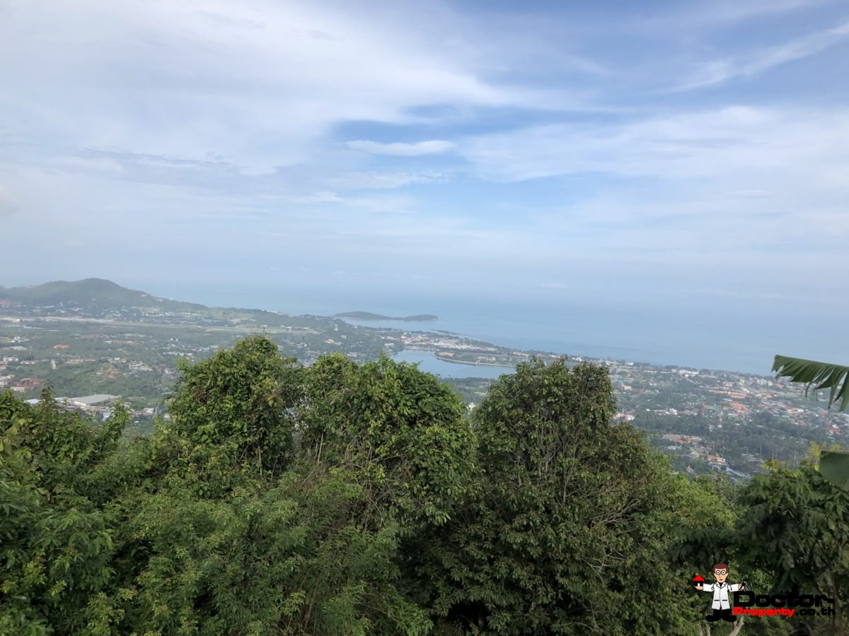 Amazing 4,5 Rai Sea View Land - Bophut - Koh Samui for sale