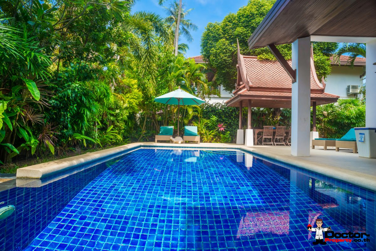 4 Bedroom Pool Villa on Laem Set Beach, Koh Samui - For Sale