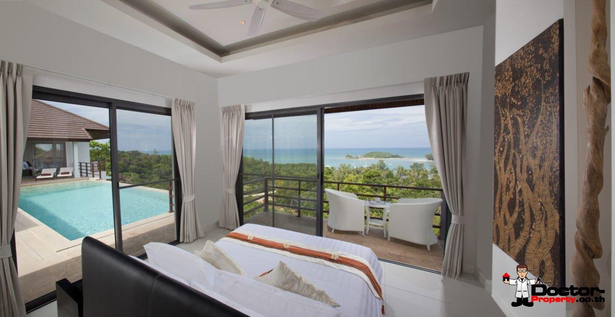 4 Bedroom Sea View Villa - Choeng Mon - Koh Samui - for sale
