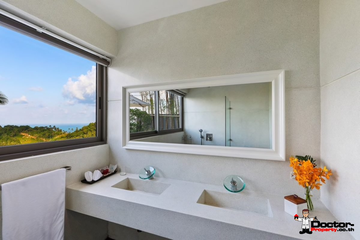4 Bedroom Pool Villa with Stunning Views - Chaweng Noi, Koh Samui - For Sale