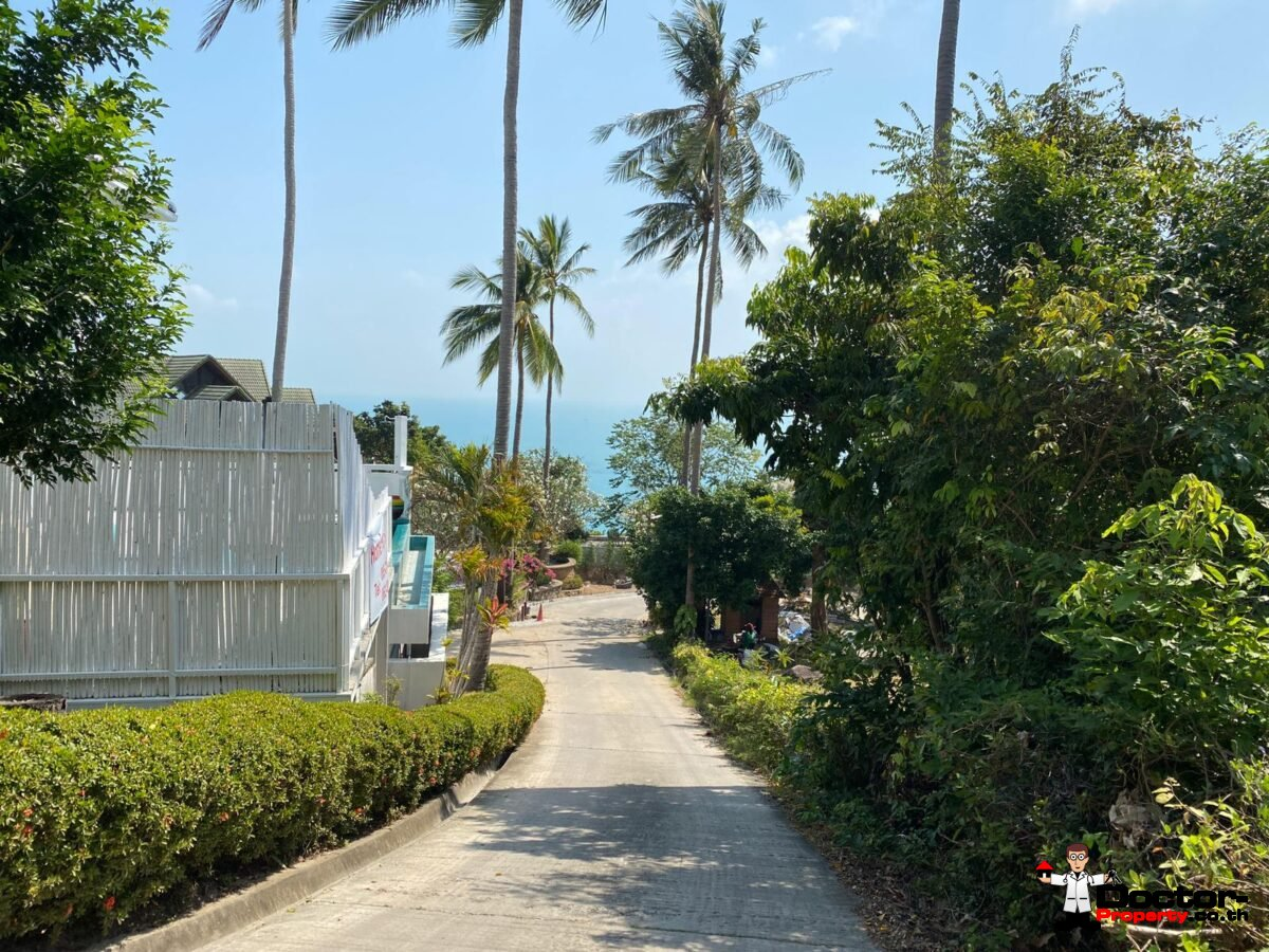 4 Bedroom Sea View Villa – Chaweng Noi – Koh Samui – for sale