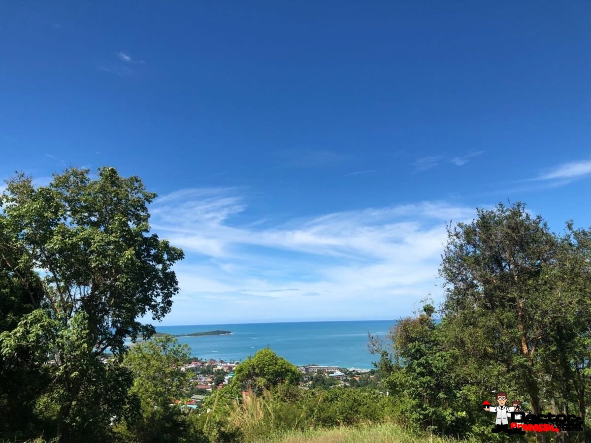 Stunning Sea View Land (841 - 3000 sqm) - Chaweng - Koh Samui - for sale
