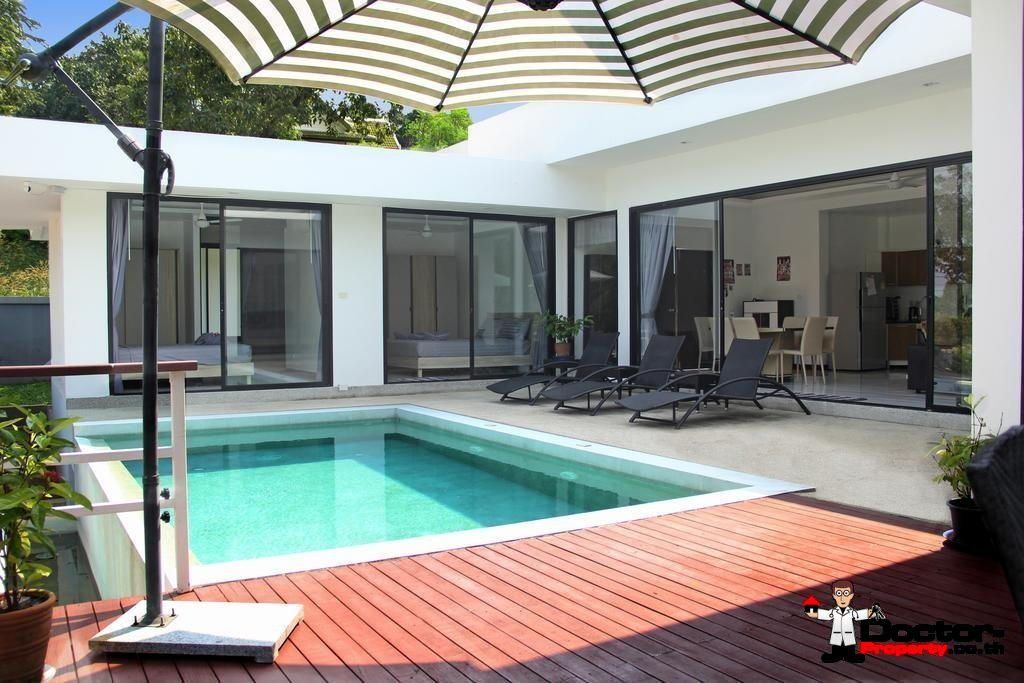3 Bedroom Villa - Bang Rak - Koh Samui - for sale