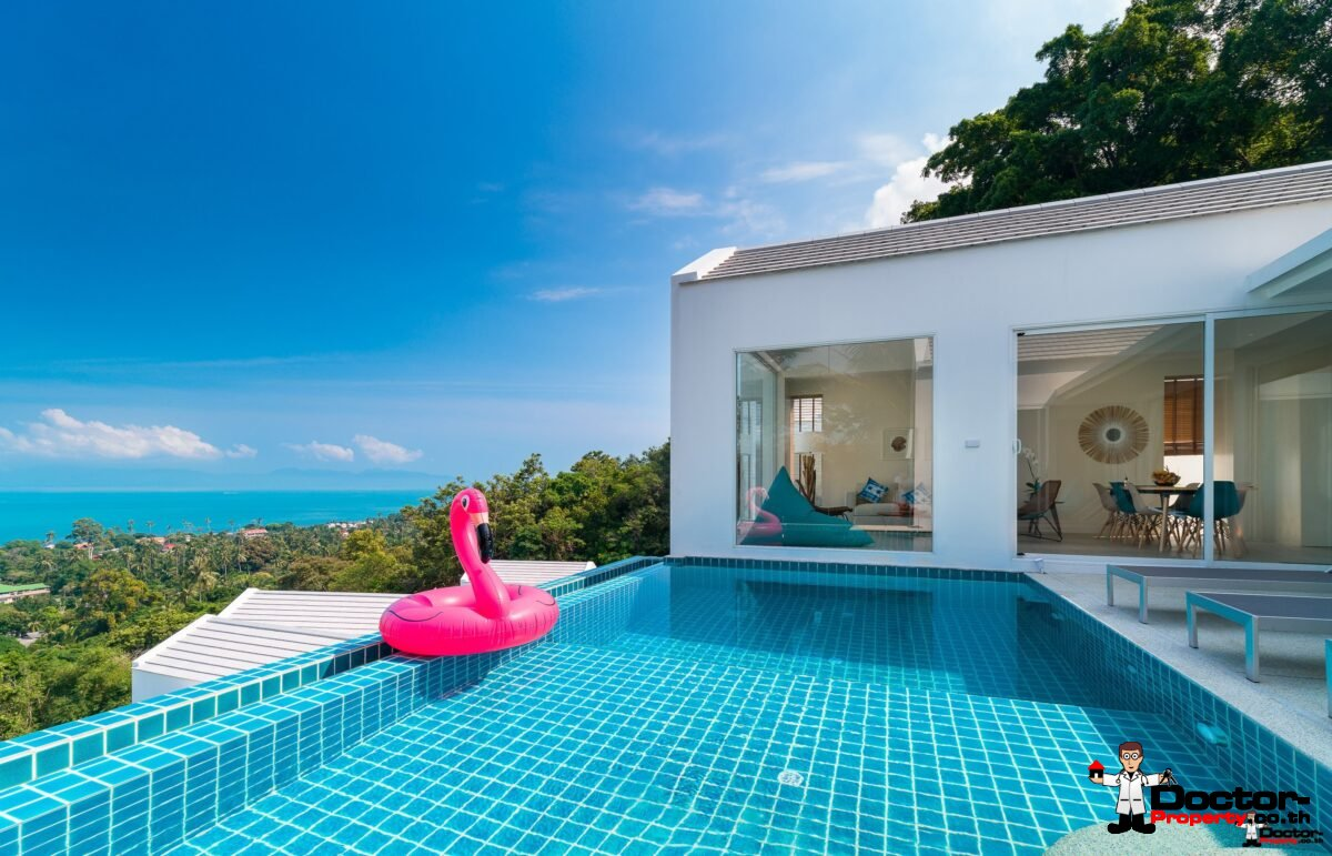Sea View Villa 4 Bedrooms - Bang Por - Koh Samui - for sale