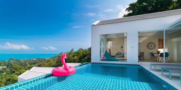 Sea View Villa 4 Bedrooms - Bang Por - Koh Samui - for sale