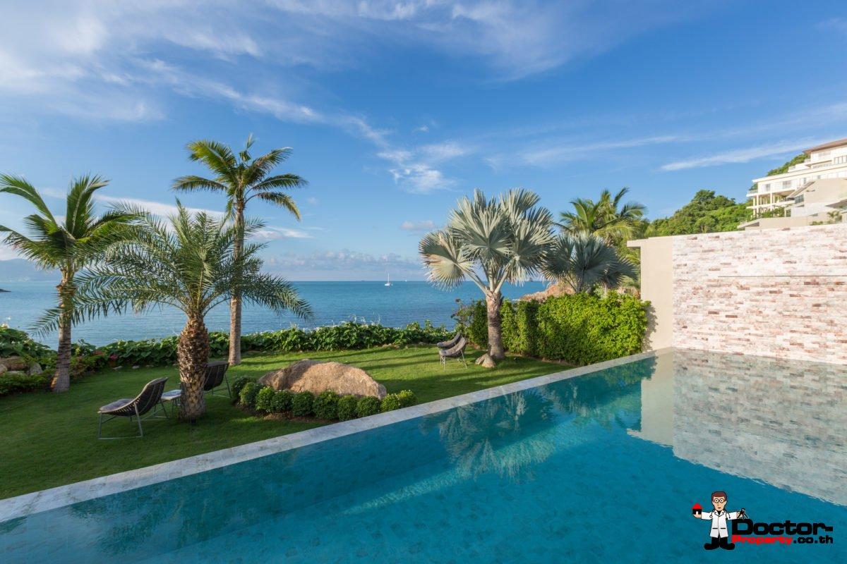 Stunning Beachfront 5 Bedroom Pool Villa - Plai Laem, Koh Samui - For Sale