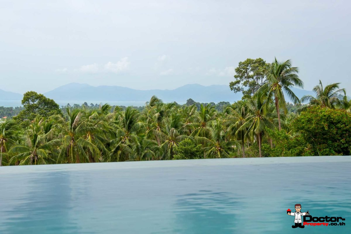 New 3 Bedroom Villa with Sea View - Mae Nam - Koh Samui for sale