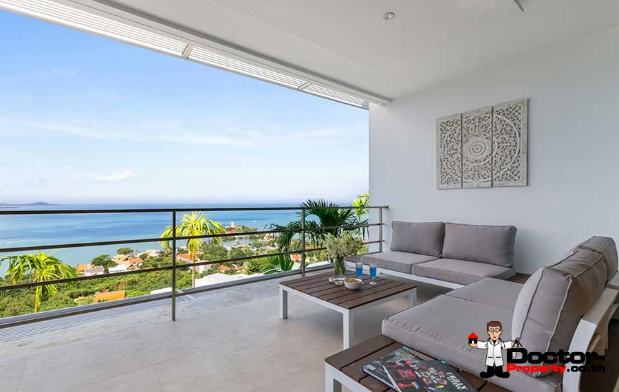 New 3 Bedroom Apartment with Sea View - Big Buddha, Koh Samui - For Sale