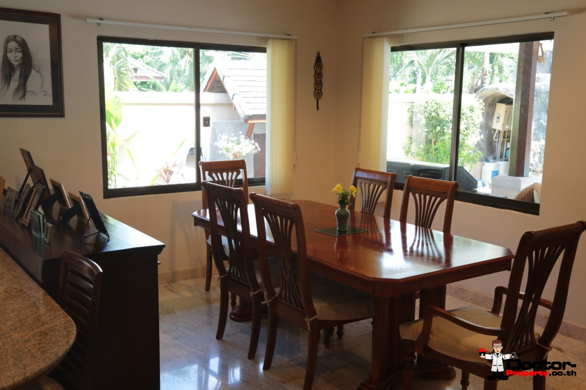3 Bedroom Pool Villa with Nice Garden in Lipa Noi, Koh Samui - For Sale