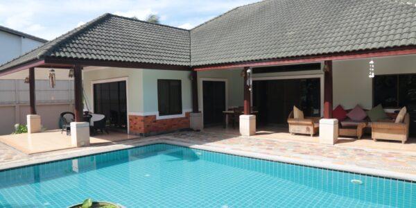 3 Bedroom Pool Villa with Nice Garden in Lipa Noi, Koh Samui - For Sale