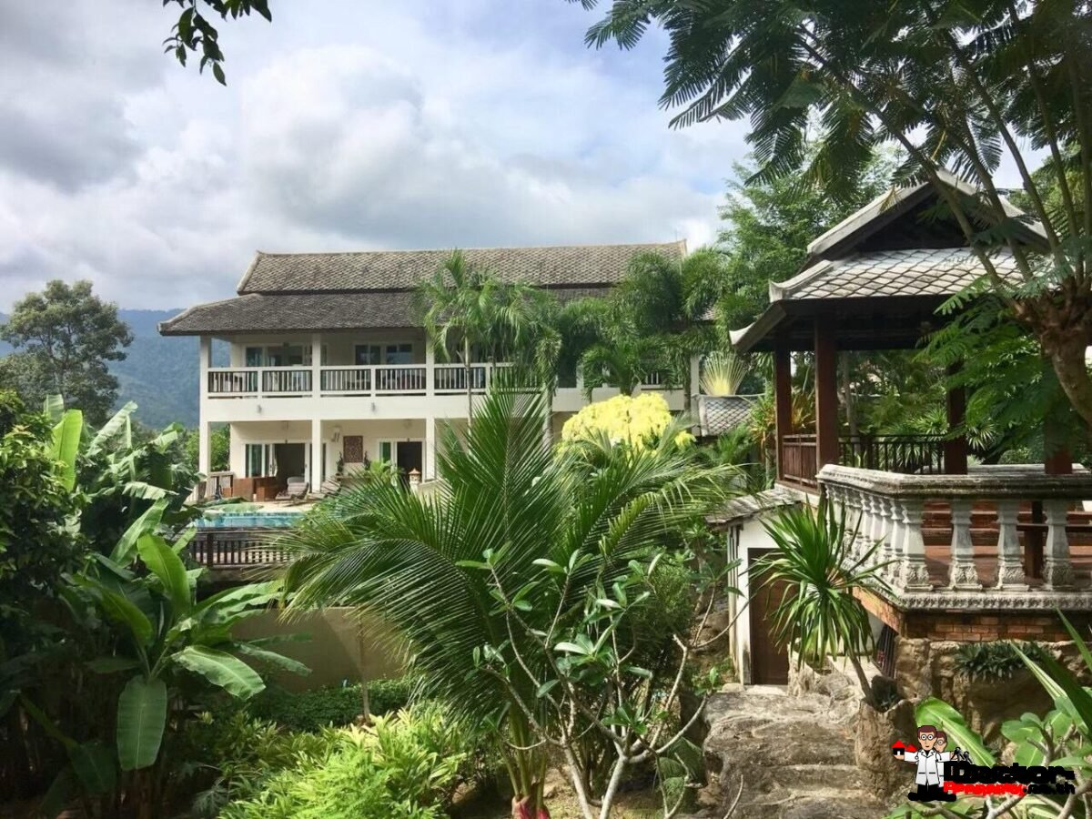 Fantastic 4 Bedroom Villa Sea View - Lamai - Koh Samui - for sale