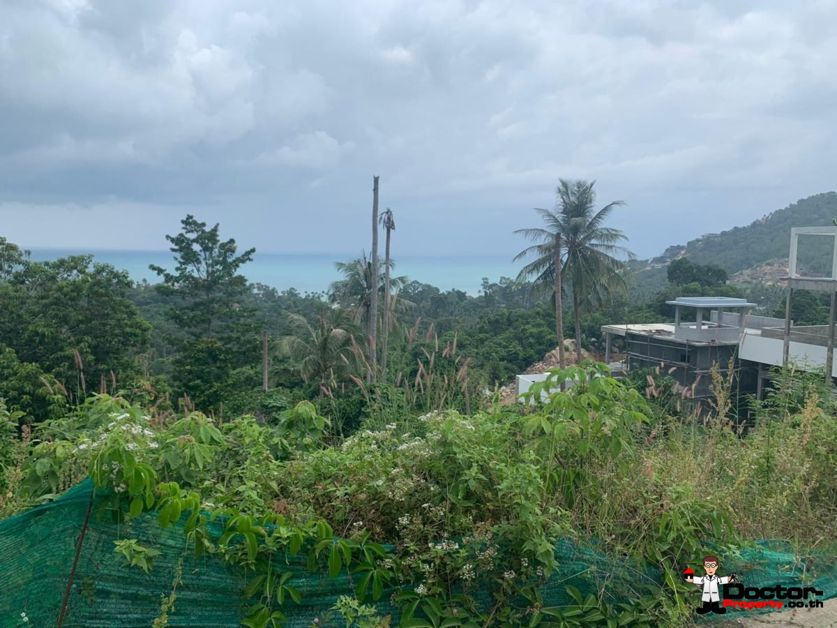 750m² Amazing Sea View Land - Chaweng Noi, Koh Samui - For Sale