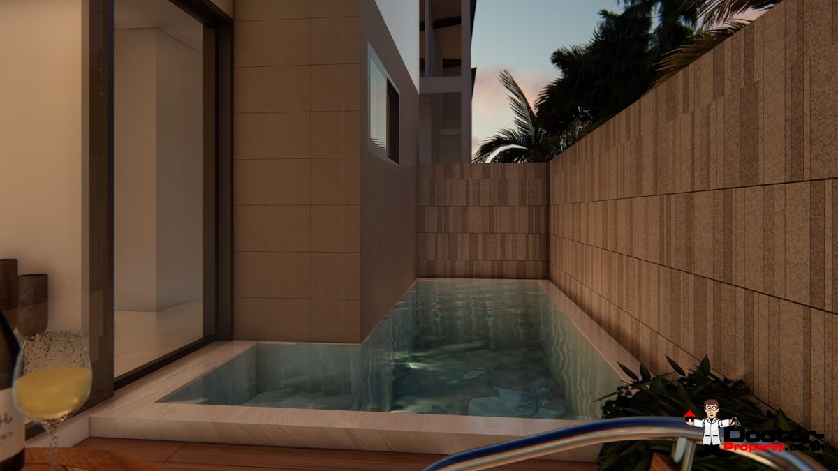 New Townhouses in Bang Kao, Koh Samui - For Sale
