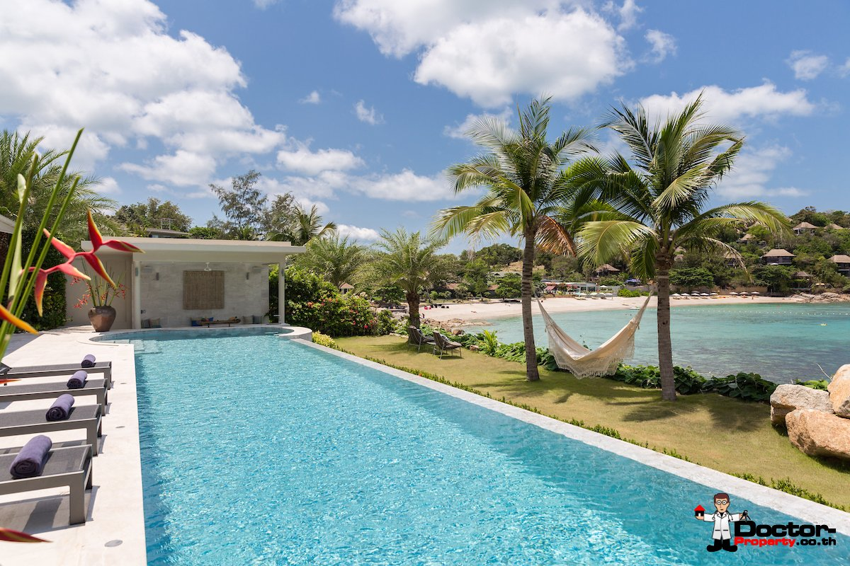 Luxury Beachfront 5 Bedroom Pool Villa - Plai Laem, Koh Samui - For Sale