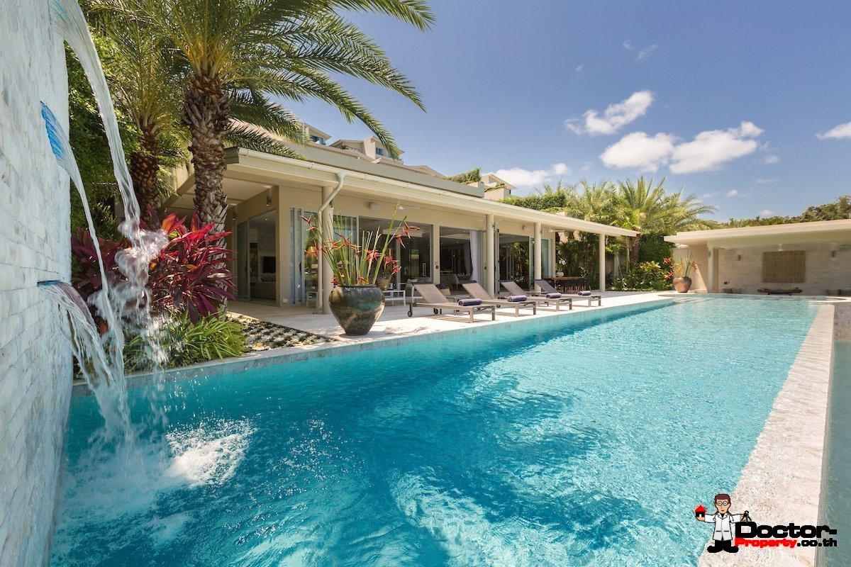 Luxury Beachfront 5 Bedroom Pool Villa - Plai Laem, Koh Samui - For Sale