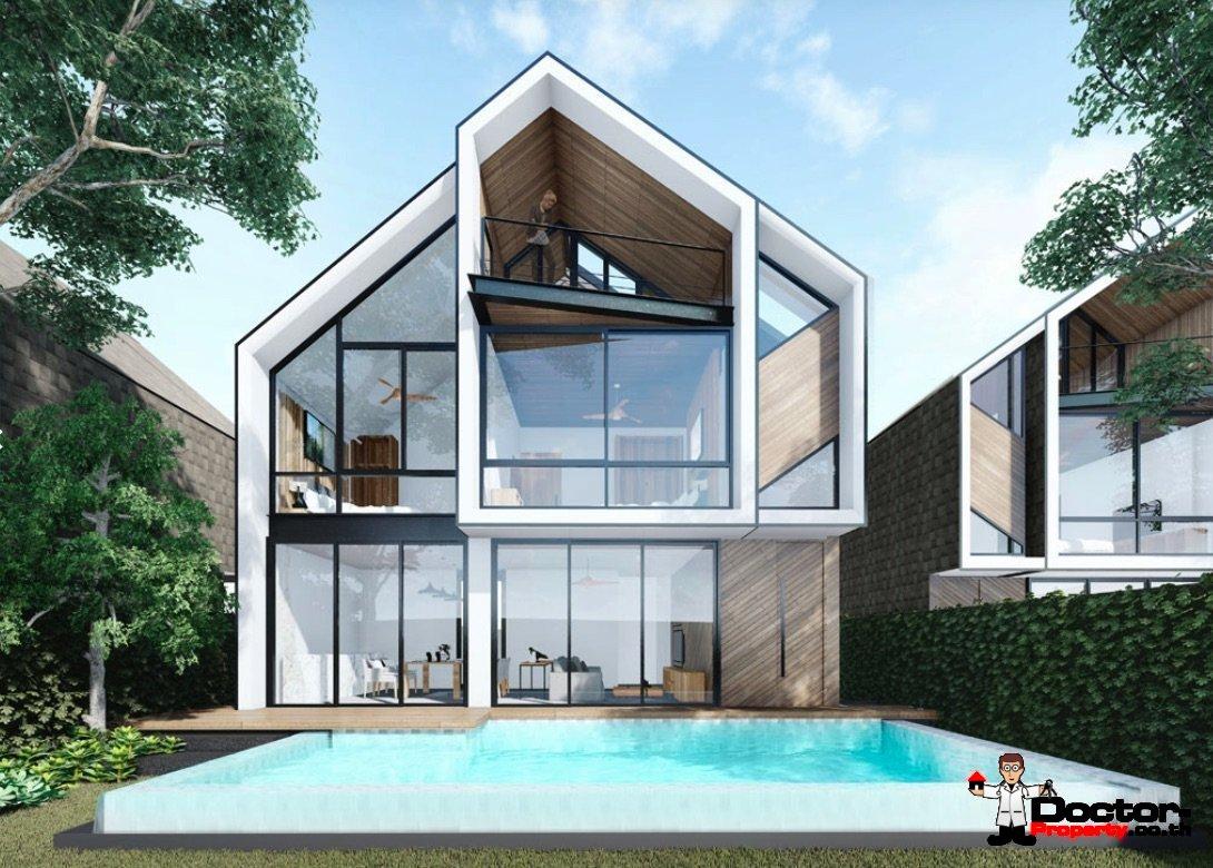 New 3 Bedroom Villa - Bang Rak - Koh Samui - for sale