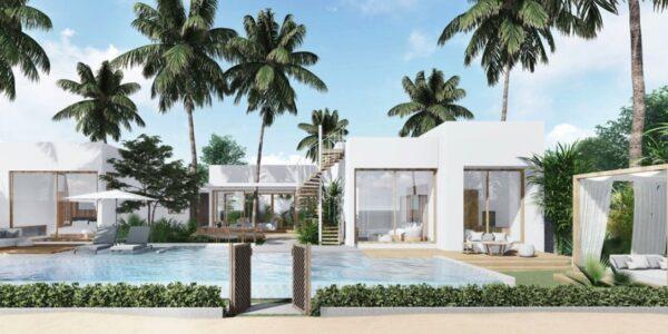 Stunning 4 Bedroom Beachfront Villa - Bang Rak - Koh Samui - for sale