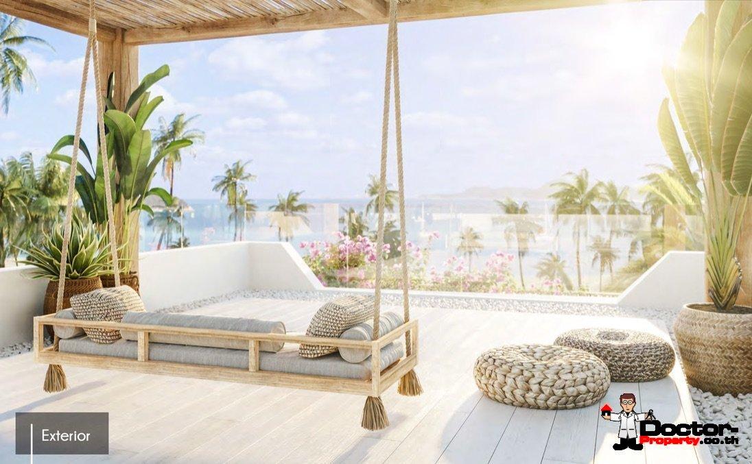 New 3 Bedroom Villa with Sea View - Bang Rak - Koh Samui - for sale