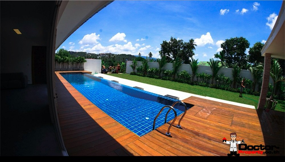 3 Bedroom Privat Pool Villa - Plai Laem - Koh Samui - for sale
