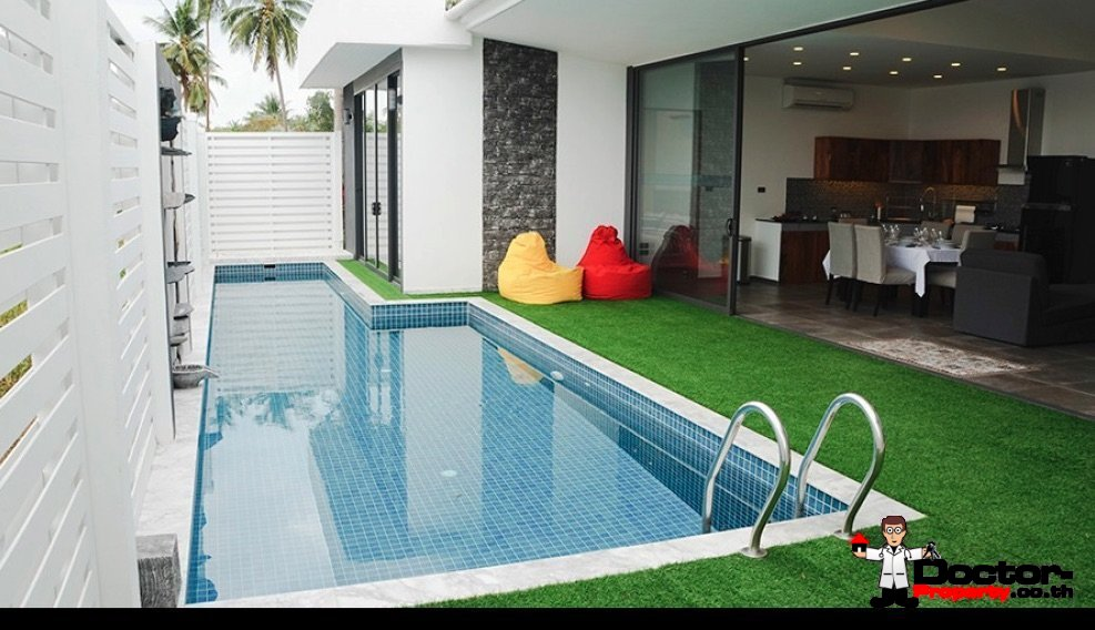 2 Bedroom Pool Villa - Bophut - Koh Samui - for sale