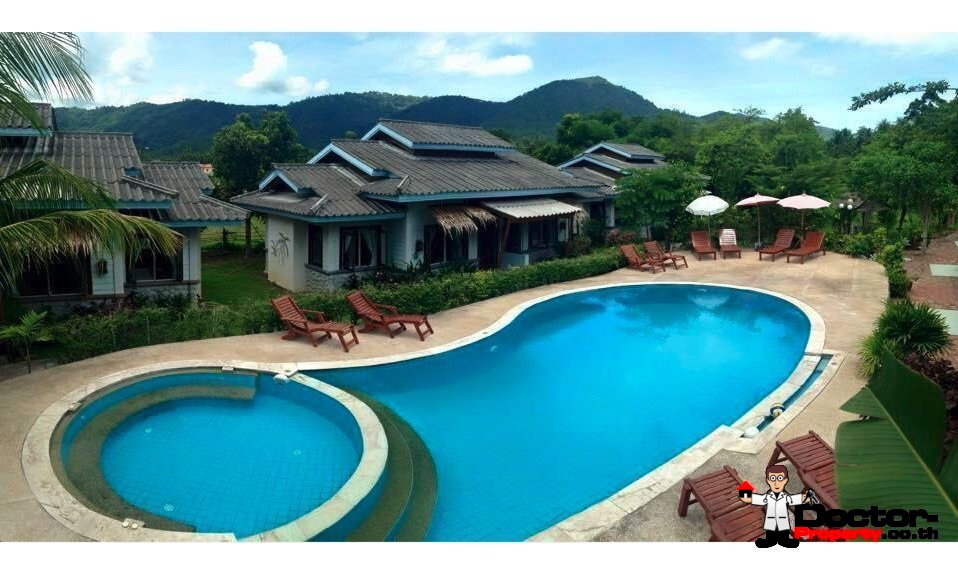 Small Boutique Resort (20 rooms) - Mae Nam - Koh Samui - for sale