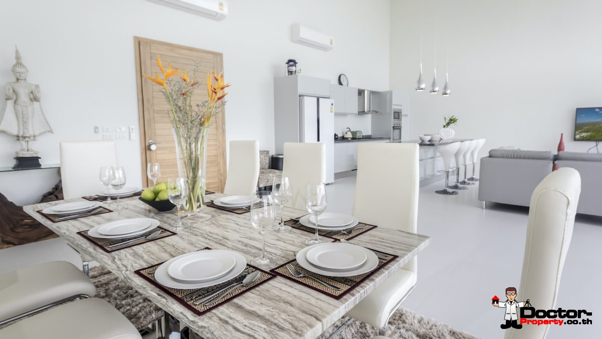 4 Bedroom Sea View Pool Villa - Mae Nam, Koh Samui - For Sale