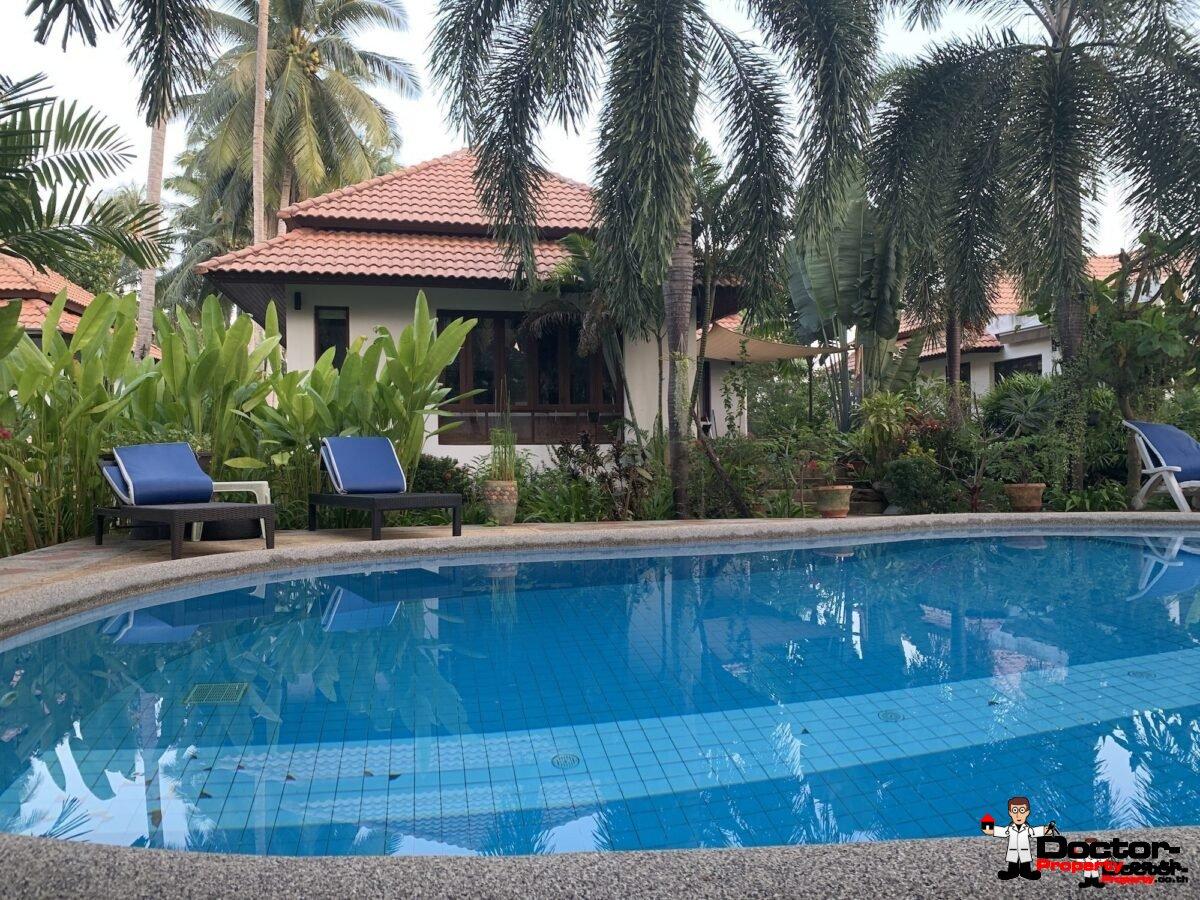 3 Bedroom House Near Beach – Hua Thanon, Koh Samui – for sale