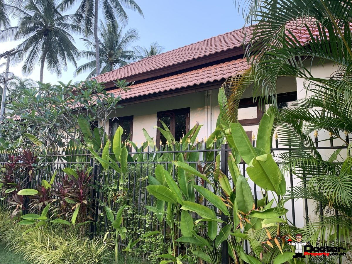 3 Bedroom House Near Beach – Hua Thanon, Koh Samui – for sale