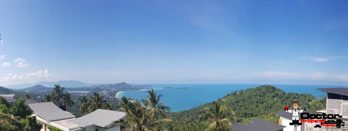 1 Rai Fantastic Sea View Land - Chaweng Noi - Koh Samui - for sale