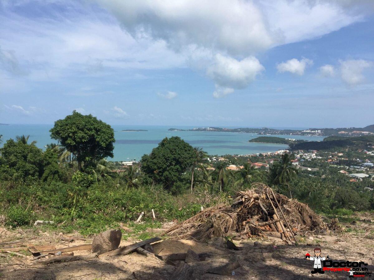 2 Rai Sea View Land - Bophut - Koh Samui - for sale