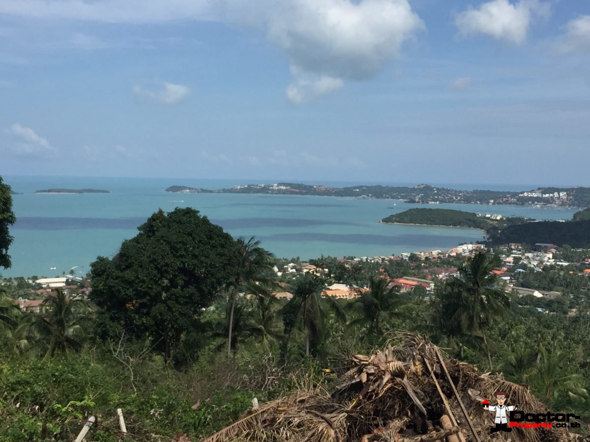 2 Rai Sea View Land - Bophut - Koh Samui - for sale