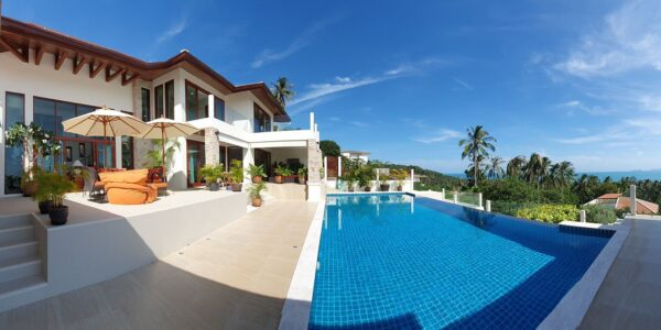 4 Bedroom Pool Villa with Seaview - Bang Por, Koh Samui - For Sale