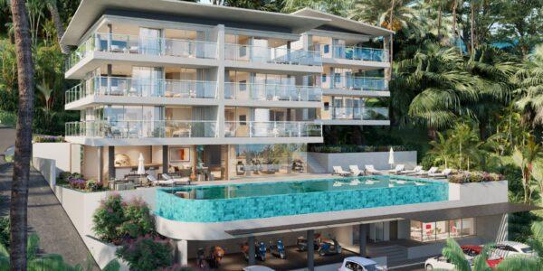 New 2 Bedroom Apartment with Sea View – Bang Por – Koh Samui