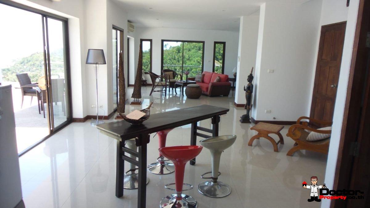 Stunning 3 Bedroom Villa with Sea View - Bang Por - Koh Samui - for sale