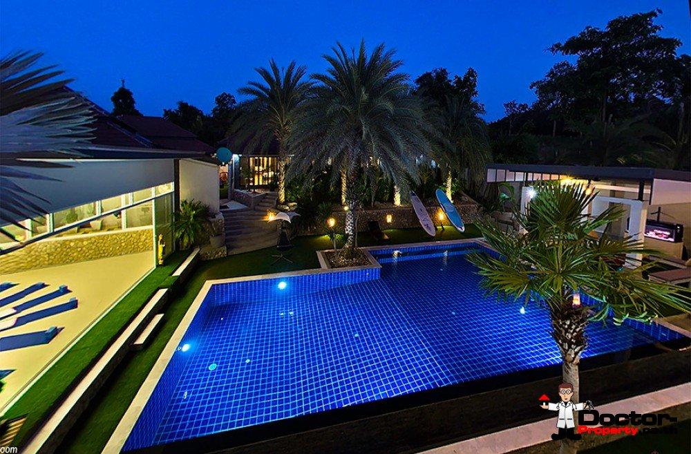 Small Resort - 4 Apartments (2 Bed) + 2 Villas (3 Bed) - Plai Laem