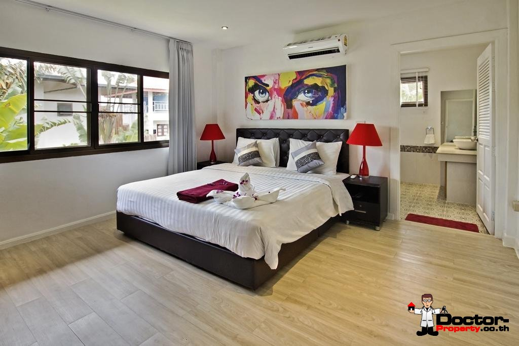 4 Bedroom Villa - Bang Rak - Koh Samui - for sale