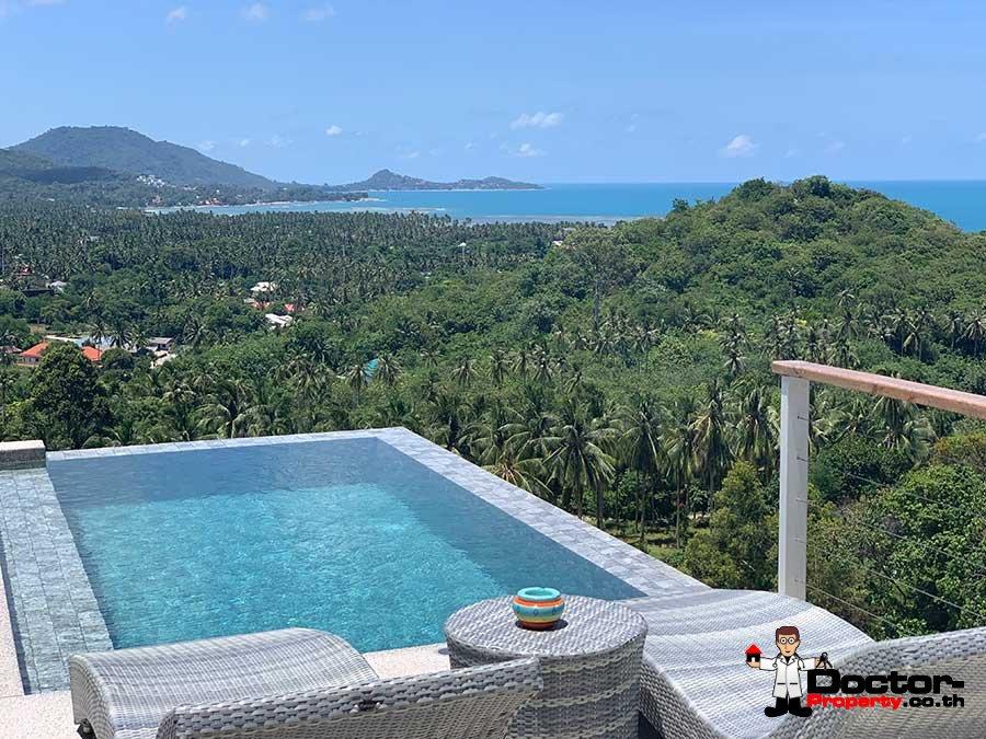 Sea View Villa 3 Bedroom - Laem Set - Koh Samui - for sale