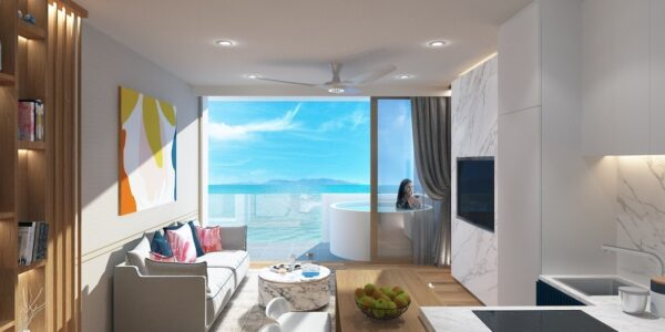Penthouse 3 Bedroom with Sea View - Fisherman`s Village - Koh Samui