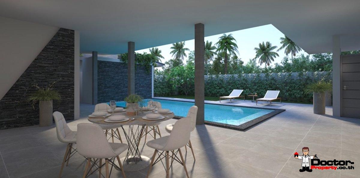 2 Bedroom Pool Villa - Lamai Beach - Koh Samui - for sale