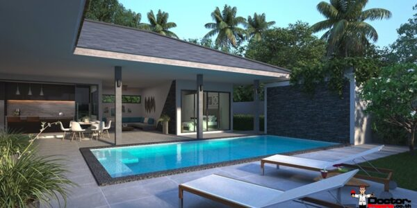 2 Bedroom Pool Villa - Lamai Beach - Koh Samui - for sale