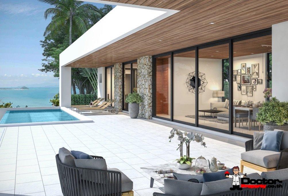New Sea View Villa - Chaweng Noi - Koh Samui - for sale