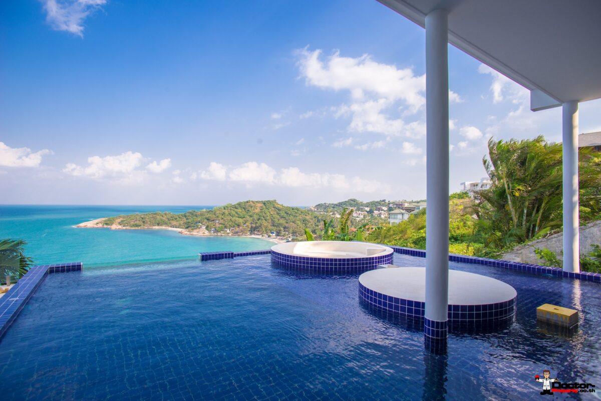Exclusive 5 Bedroom Pool Villa with Seaview - Plai Laem, Koh Samui - For Sale