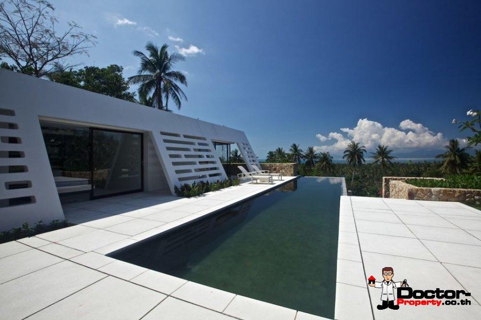 Stunning 3 Bedroom Sea View Villa - Mae Nam - Koh Samui - for sale
