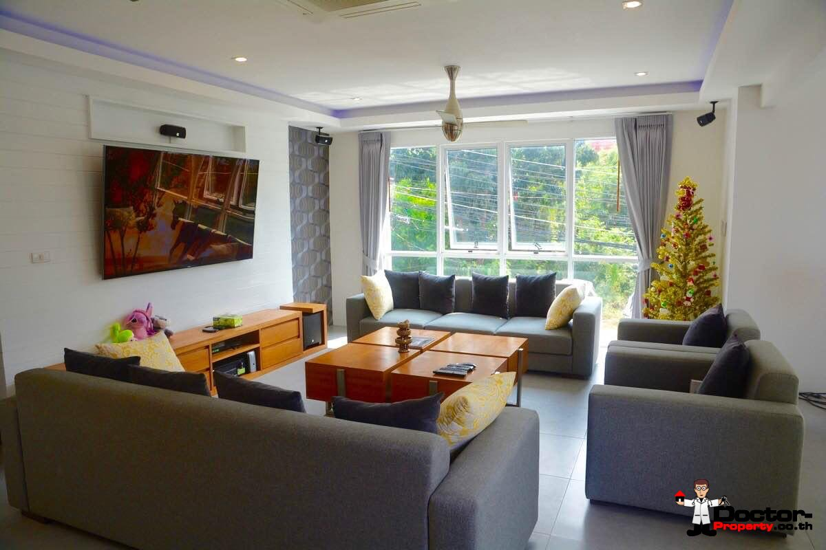2 Storey Villa with 4 Bedrooms - Bang Rak - Koh Samui - for sale